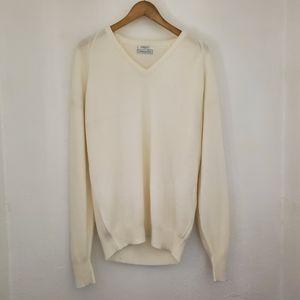 Christian Dior Vintage V-Neck Long Sleeve Sweater